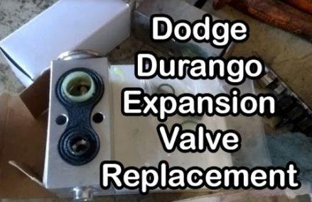 Replacing the Expansion Valve on a 2001 Dodge Durango Miramar Florida 2018