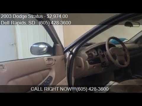 2003 Dodge Stratus Se 2.4l