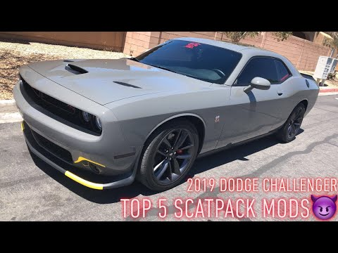 5 Must Have MODS for Dodge Challenger/Charger Scatpack**MUST WATCH** 2019