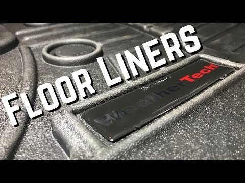 Weathertech Floor Liners in my Avalanche! Dodge Ram Floor Mats