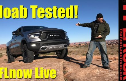 First in Moab in the New 2019 Ram Rebel! TFLnow (Almost) Live Show #14 From 3608 Walpole NH