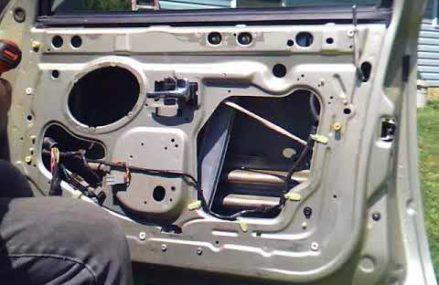 1997 LINCOLN WINDOW REGULATOR For Nashville 49073 MI