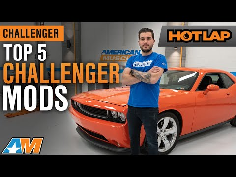 Top 5 Mods For Your 2009 - 2014 Dodge Challenger – Hot Lap 2019