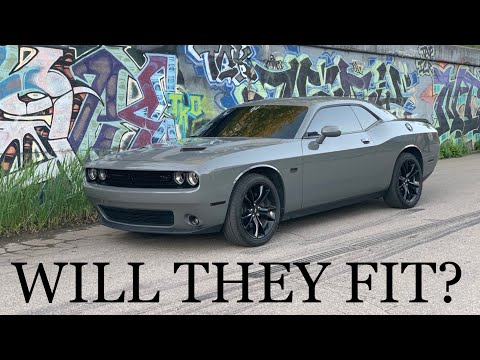 Will 275 tires fit on my Dodge Challenger RT stock wheels!?!? 2019