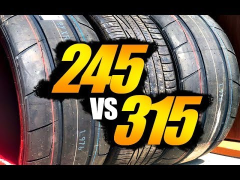 EVERYTHING Tires & Rims // 245, 275, 315's 2021