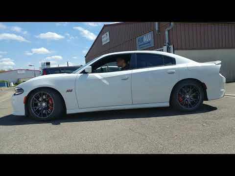 I'm back with new dark grey rims - Dodge Charger SRT 392 2019