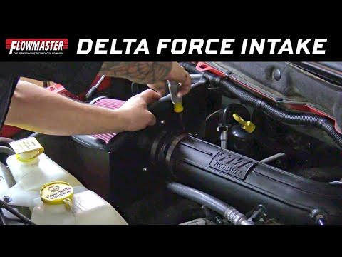 Flowmaster Delta Force Performance Air Intake 03-08 Dodge Ram 1500, 2500 & 3500 5.7L - Part # 615110 Dodge Ram Intake