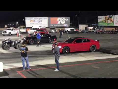 2018 Dodge Demon vs 2016 Charger Hellcat  Las Vegas 2019