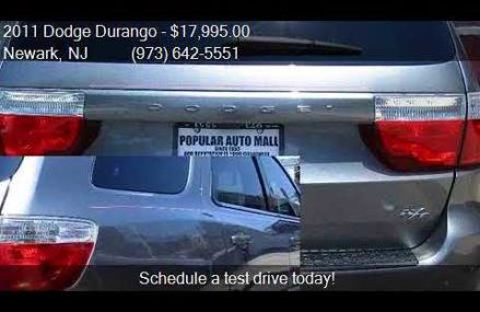 2011 Dodge Durango R/T AWD 4dr SUV for sale in Newark, NJ 07 Baton Rouge Louisiana 2018