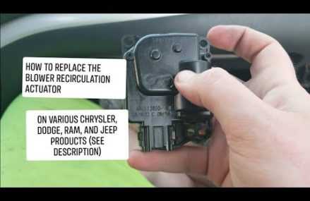 How to replace the Temperature or Recirculation Blend Door on a Chrysler Family Product Paterson New Jersey 2018