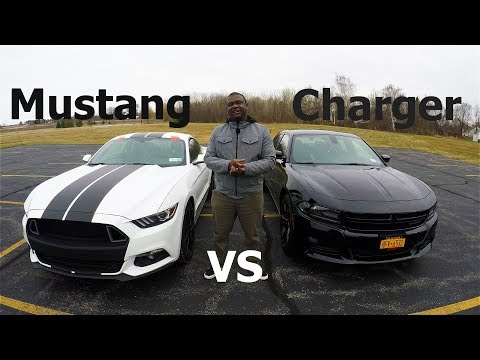 Ecoboost Mustang Destroys Dodge Charger 2021