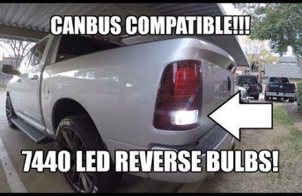 LED Reverse Backup Bulbs CANBUS COMPATIBLE bulb type 7440 – DODGE RAM 1500 2500 3500 at 28577 Sealevel NC