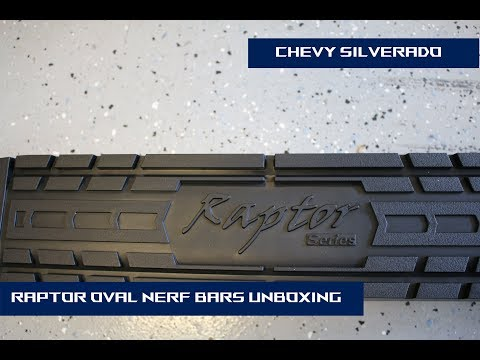 Raptor 4 Inch Oval Nerf Bars (Running Boards) Unboxing Dodge Ram Nerf Bars