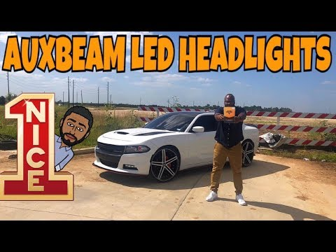 DODGE CHARGER AUXBEAM LED HEADLIGHT UNBOXING 2021