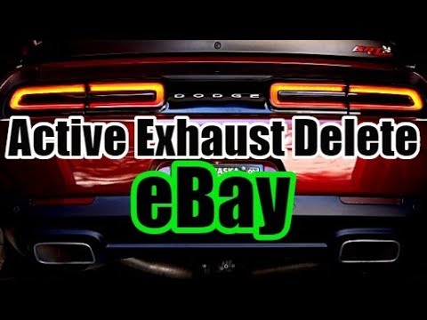 MOPAR Active Exhaust Delete Kit From eBay Challenger Charger 2019