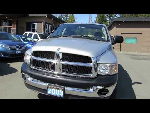 2003 DODGE RAM 1500 CREW CAB 4X4 MANUAL TRANSMISSION 4X4 AT KOLENBERG MOTORS LTD Dodge Ram Quad Cab