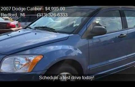 2007 Dodge Caliber Engine in Sterling City 76951 TX USA