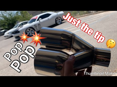 My Challenger gets new exhaust 2019