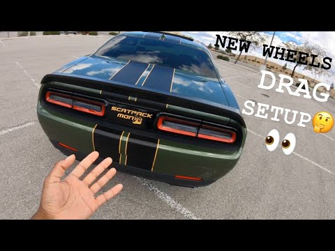 New Wheels for my Dodge Challenger Scatpack I Needed These**MUST WATCH** 2021