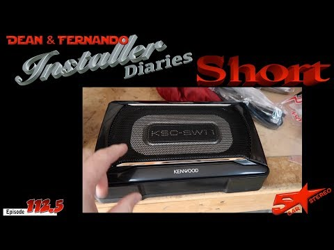 Dodge Ram in for a new radio, camera, and a very little bass   Installer Diaries Short 112.5 Dodge Ram Radio