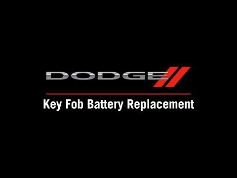 Key Fob Battery Replacement | How To | 2020 Dodge Challenger 2019