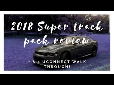 2018 Dodge charger sxt super track pack review Inside and out Dodge 8.4 uconnect review 2021