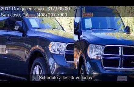 2011 Dodge Durango Crew Lux 4dr SUV for sale in San Jose, CA Cary town North Carolina 2018