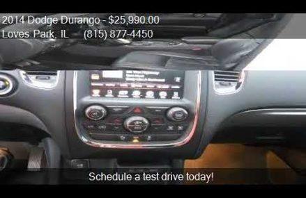 2014 Dodge Durango R/T AWD 4dr SUV for sale in Loves Park, I Boston Massachusetts 2018