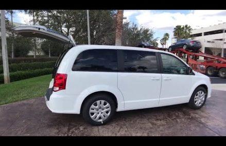 2018 Dodge Grand Caravan Orlando, Hunter's Creek, Kissimmee, Windermere, Davenport, FL R181042 From Mccleary 98557 WA