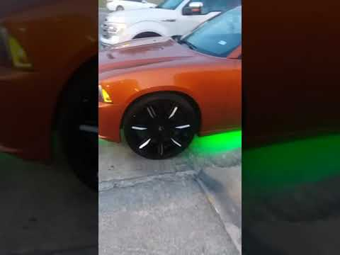 Orange Charger on 24s 2019