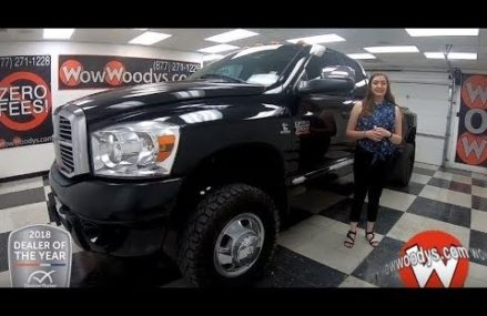 2009 Dodge Ram 3500 Laramie Review   Video Walkaround   Used Cars and Trucks for sale at WowWoodys Locally At 41778 Yerkes KY