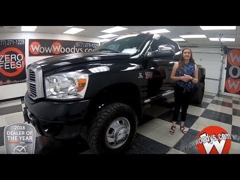 2009 Dodge Ram 3500 Laramie Review   Video Walkaround   Used Cars and Trucks for sale at WowWoodys Dodge Ram Used