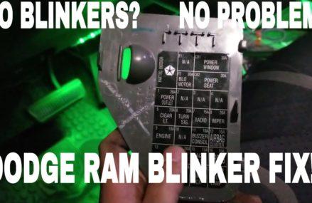 Dodge Ram no Blinkers? 2ND GEN  How to fix (Cummins) Local Area 31099 Warner Robins GA