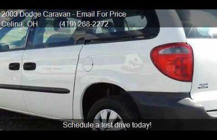 2003 Dodge Caravan CV 4dr Cargo Mini Van for sale in Celina, Near Marianna 32447 FL