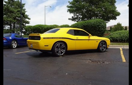 2012 Dodge Challenger SRT8 Yellow Jacket # 377 & 392 Engine Sound on My Car Story with Lou Costabile Local Los Angeles 90078 CA