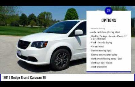 2017 Dodge Grand Caravan Elkader IA E3013 at Merced 95348 CA