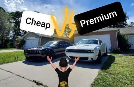 Cheap vs Premium Challenger widebody kit. Local Leadwood 63653 MO
