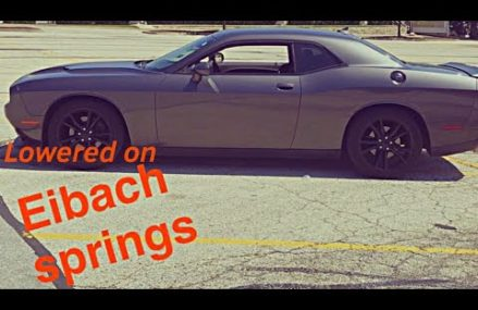 DODGE CHALLENGER LOWERED ON EIBACH SPRINGS For 79105 Amarillo TX