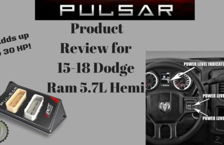 Edge Pulsar Product Review for 15-18 Dodge Ram Around Streets in 45071 West Chester OH
