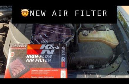 NEW K&N air filter and cabin air filter on my Dodge Challenger SXT + Near Lexington 35648 AL