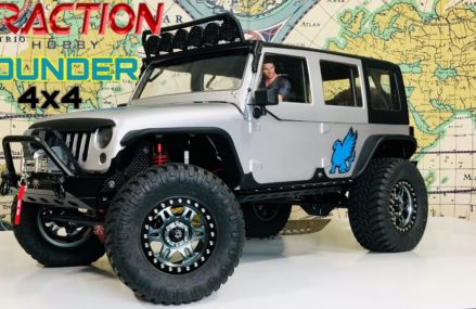 TRACTION HOBBY 1/8TH FOUNDER 4X4 (THE GRIFFIN) Boise Idaho 2018