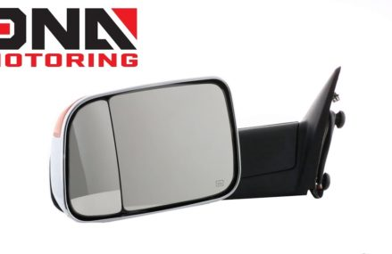 09-16 Dodge Ram Powered Chrome Amber Heated Towing Mirror Local 70092 Violet LA
