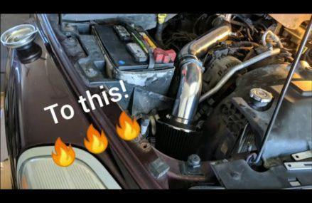 2004 Dodge Durango Cold Air Intake 5.7 VS HEMI 2004 – 2009 Aspen DIY HP Install Cheap CAI from Ebay Torrance California 2018