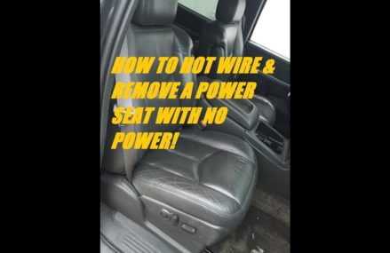 HOW TO HOT WIRE A POWER SEAT – Silverado Tahoe Suburban 1999-2006 – junk yard removal the EASY WAY! Near Macksburg 45746 OH