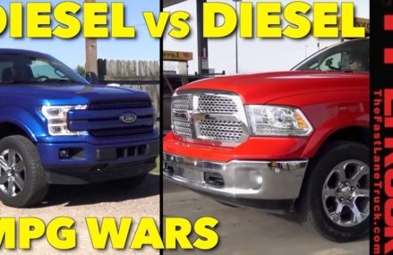 MPG Challenge: How Thirsty Is the New Ford F-150 Diesel Empty and Towing? Local Area 25661 Williamson WV