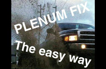 Dodge Ram Plenum repair (2nd gen 94-01) with All torque specs (in video discription) Providence Rhode Island 2018