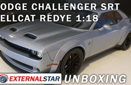 2019 Dodge Challenger SRT Hellcat Redeye 1:18 by GT Spirit | Unboxing & Review in Maple Plain 55393 MN