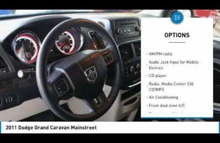 2011 Dodge Grand Caravan 77399 From Milnor 58060 ND