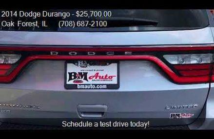 2014 Dodge Durango Limited AWD 4dr SUV for sale in Oak Fores Salem Oregon 2018