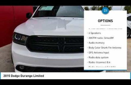 2015 Dodge Durango Ft. Worth Tx, Arlington TX, Grapevine TX U119861 Austin Texas 2018
